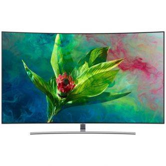 "tv Samsung 65"" qled smart tv 4k curved  65Q8C tunisie"