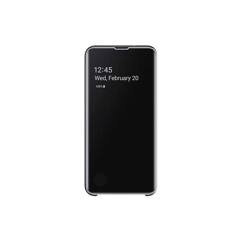 etui Galaxy S10E Clear view cover tunisie