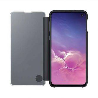 etui Galaxy S10E Clear view cover tunisie