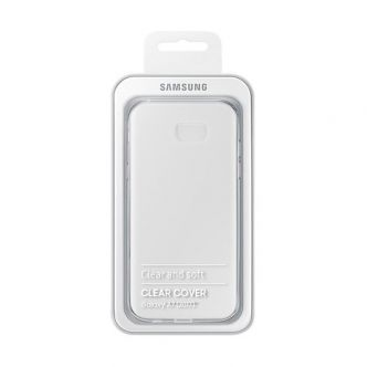 coque original Galaxy A7 etui Clear Cover Tunsie