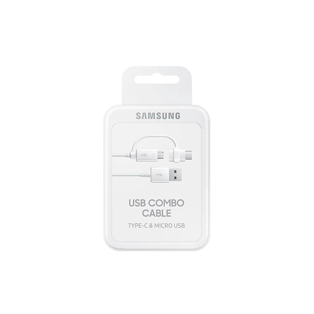 Cable USB-A vers Micro USB & USB-C