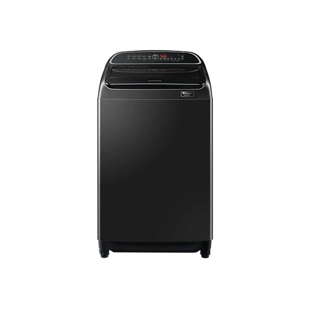 Machine à Laver Samsung Top 18kg Noir WA18T6260BV- Samsung Tunisie