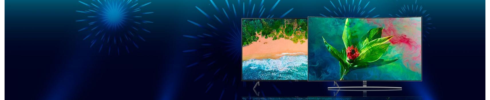 Promo TV Samsung Samrt 4K - UHD - QLED - Full HD | Samsung Tunisie