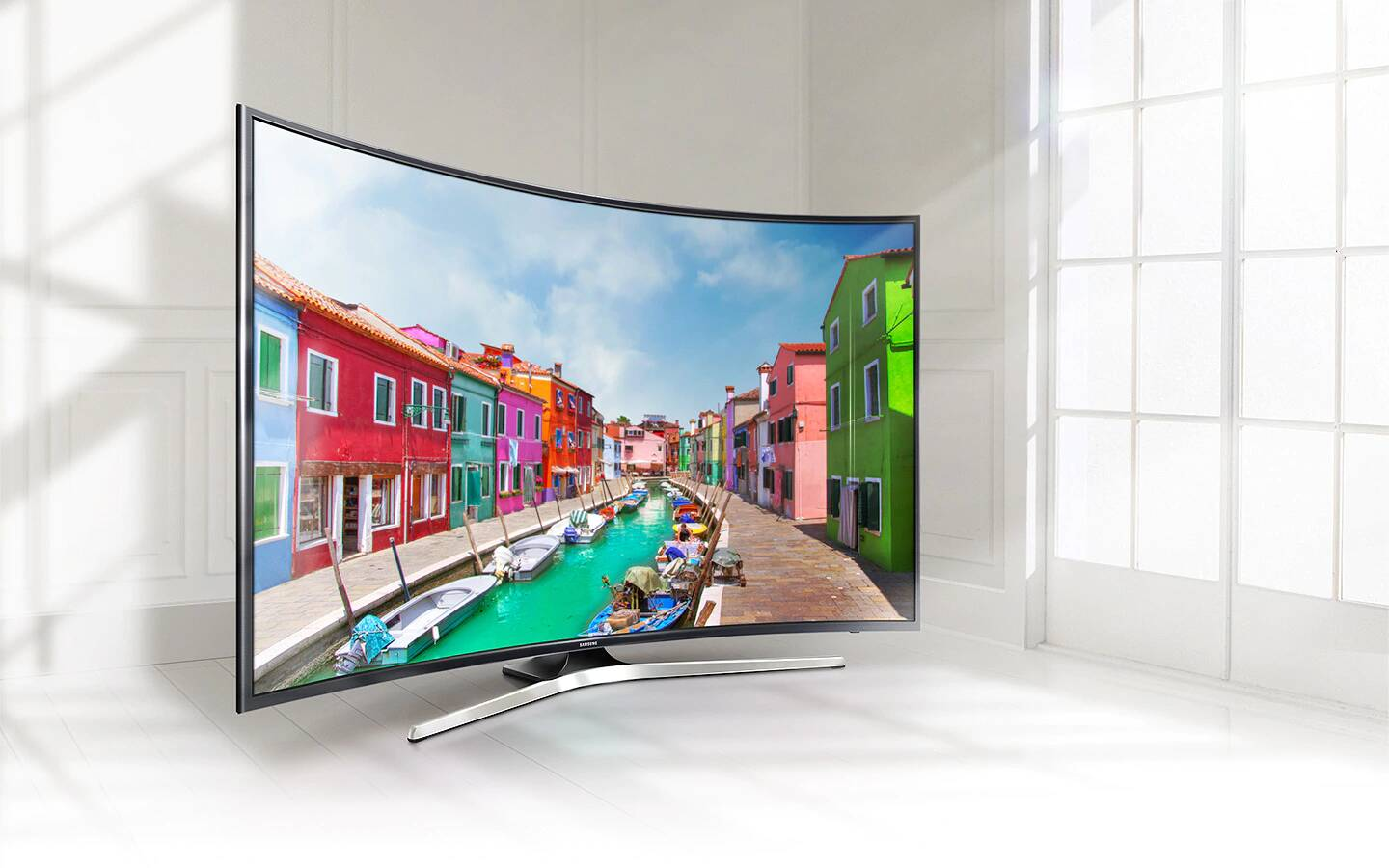 "tv samsung 55"" 4k uhd smart tv curved  tunisie"