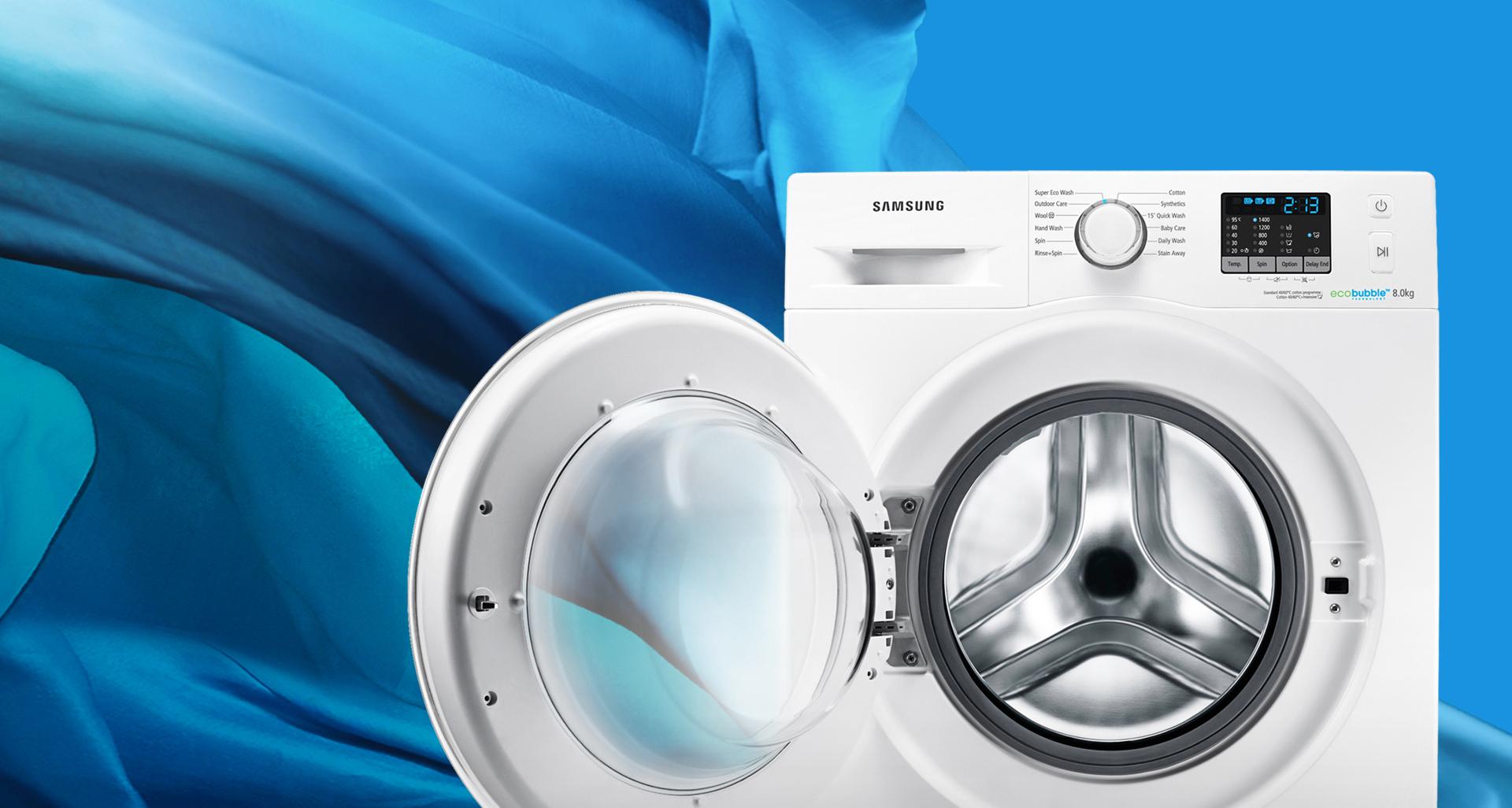 Machine à laver samsung frontale 8kg Tunisie