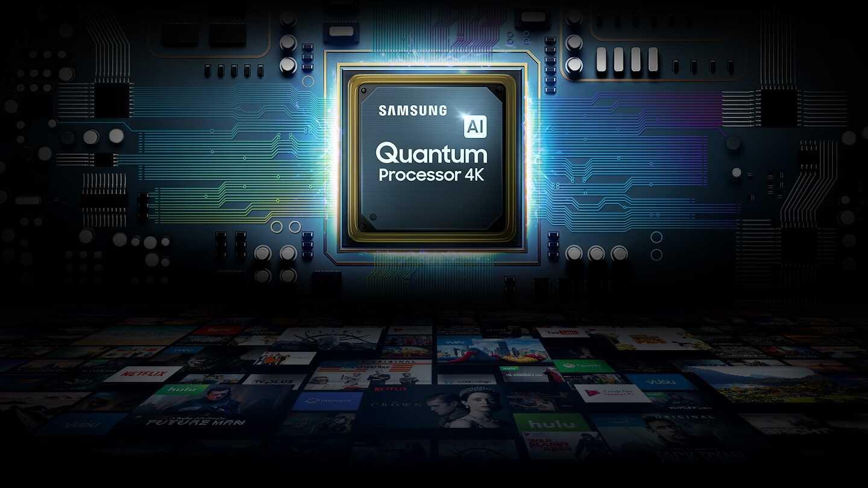 "tv samsung 55"" pouces 4k qled smart"
