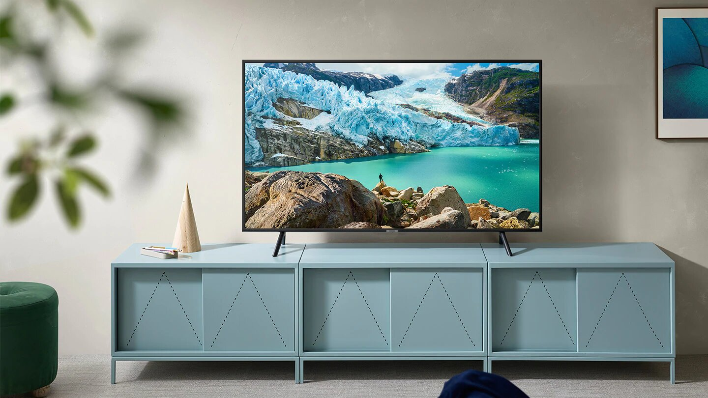 "tv samsung 43"" 4k uhd smart ru7100 tunisie"