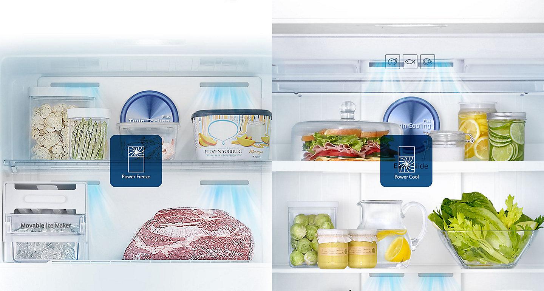 réfrigérateur Samsung rt50 avec afficheur tunisie 360 litres