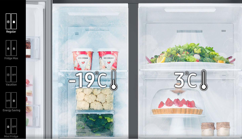 réfrigérateur Samsung RS66 Side By Side 652L prix tunisie
