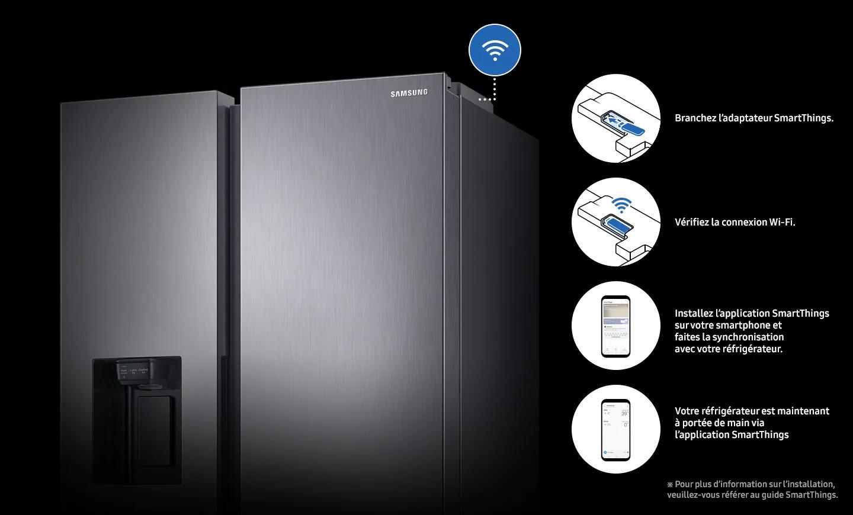 réfrigérateur samsung RS68tunisie