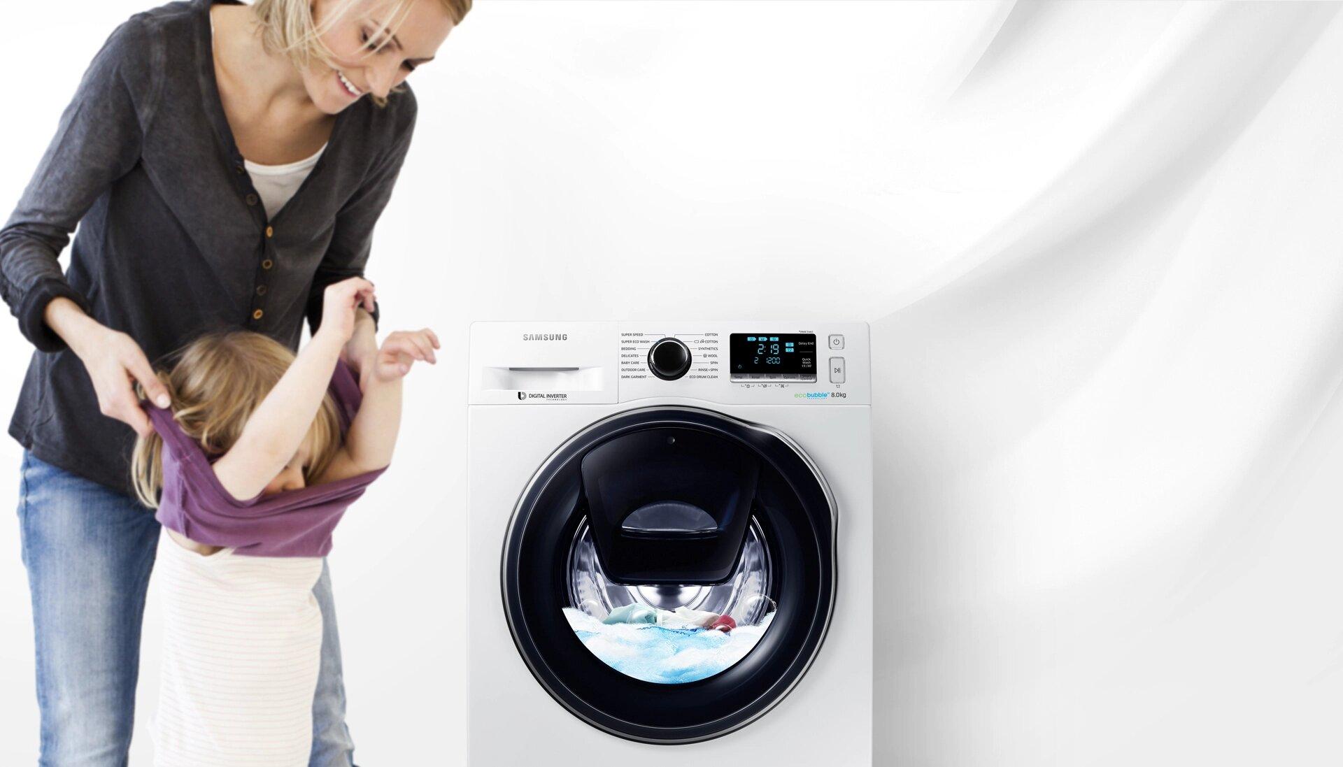 samsung machine à laver add wash 9kg frontale chez samsung tunisie