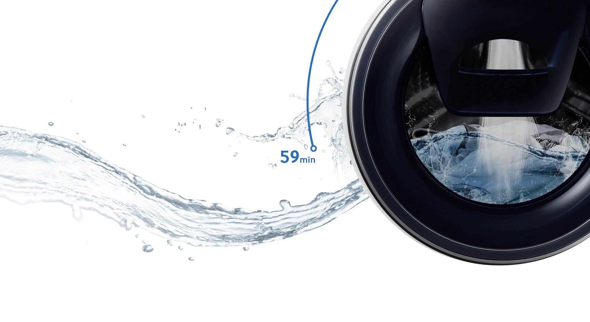 machine à laver Samsung Add Wash 9kg tunisie