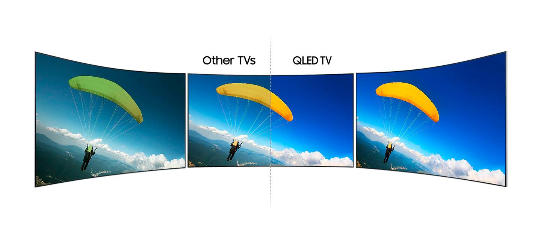 "tv samsung 65"" 4k UHD Smart curved Qled tunisie"