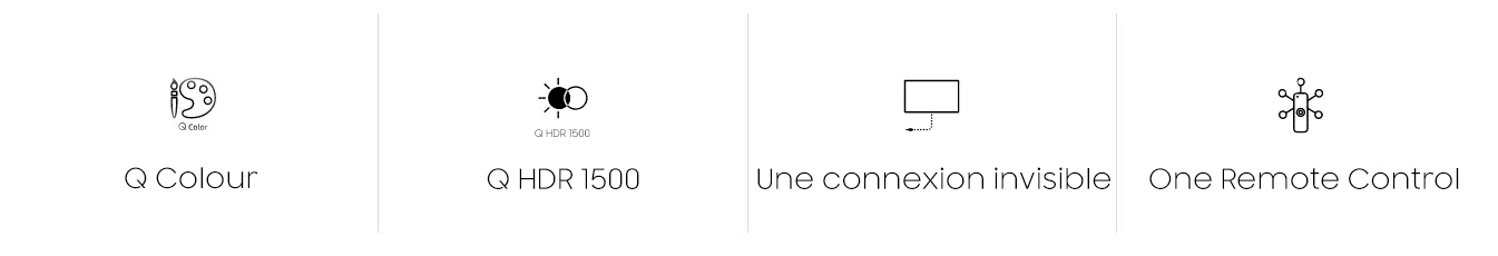 "Samsung 65"" Smart TV 4k UHD Curved QLED 65Q7C tunisie"