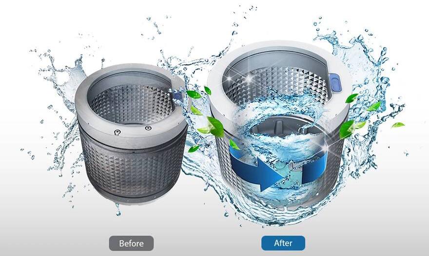 Machine à laver Samsung 9kg gris Tunisie
